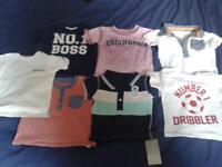 0-3 month baby boy tshirt bundle