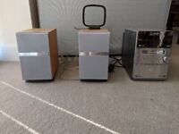 Panasonic Micro-Hifi System with CD Changer