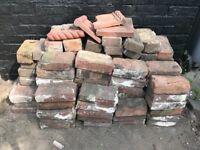 Reclaimed antique bricks 120 plus half bricks