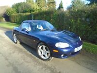 Mazda MX-5 convertible - 2003 - Manual - Petrol - 87k miles - Part ex to clear !!