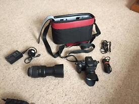 Panasonic Lumix G1 inc spare lens and carry case as new condition