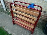 Free single folding bed