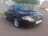 Audi TT 1.8 Turbo 2002 Quattro 4x4 225 BHP Black ***Cambelt & Water Pump Changed***