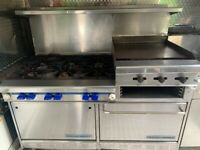 Commercial Montague Grizzly American range LPG cooker Oven Catering Propane