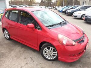 2007 Honda Fit Sport /AUTOAIR / LOADED / ALLOYS / CLEAN CAR PROO