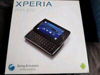 Sony Xperia mini pro Brand new sealed o2 network