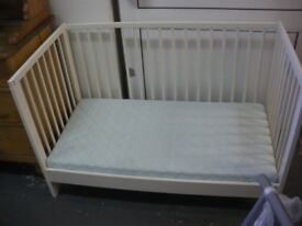 COT/FIRST BED IN WHITE at Haven Housing Trust's charity shop
