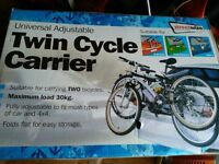 Twin cycle carrier (brand new)
