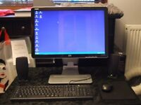 HP HDMI 22 inch monitor