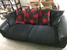 Large sofa sits 4 people
