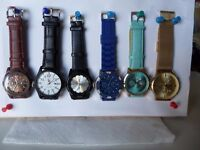 8 Brand New Watches (SOLD)