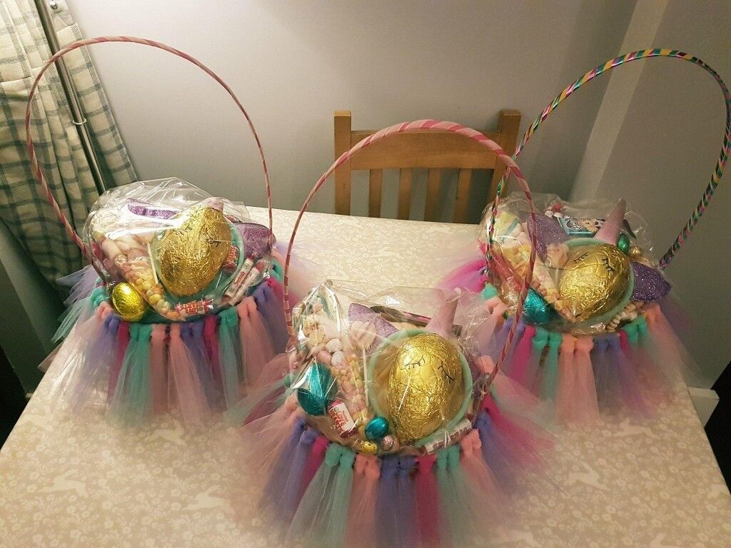 Unicorn easter baskets in randalstown county antrim gumtree unicorn easter baskets negle Image collections
