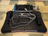 Wii Fit with various games and balance board