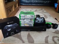 Xbox One - Games, Headset and Controllers (Nearly 200 Games Total)