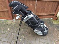 Prosimmon LH Golf set, bag and trolley - very good condition
