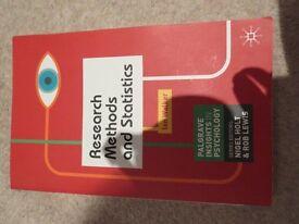 Research Methods & Statistics Textbook