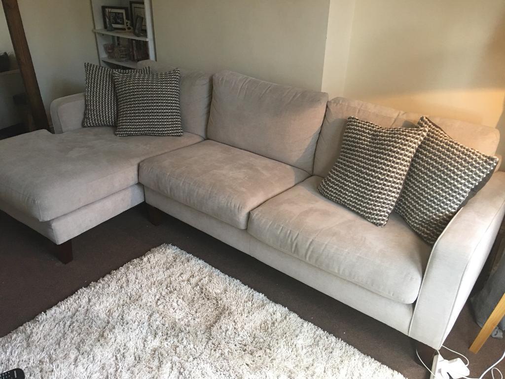 John Lewis Chaise Sofa