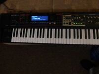 Roland keyboard workstation