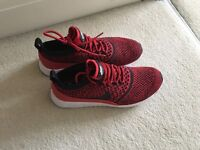 Brand new Nike trainers air max Thea ultra flyknit red ( size 6)