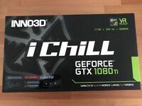 Inno3D GeForce GTX 1080Ti iChill X4 Ultra AIR BOSS 11264MB GDDR5X PCI-Express Graphics Card