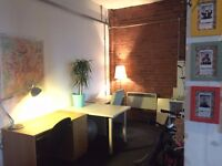 Liverpool Desk Space To Rent (£120pcm) In Relaxed Baltic Triangle Studio Space - Freelancer/Startups