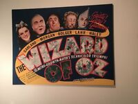 Giant Wizard of Oz Canvas Print