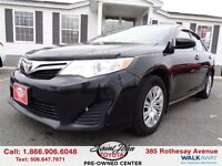 2012 Toyota Camry LE $107.19 BI WEEKLY!!!