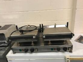 Double panini grill velox Lincat double single phase catering restaurant hotels pubs cafe