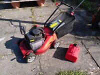 Sovereign XSS40A Petrol Lawnmower, 40cm cut