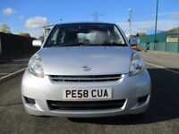 2009 DAIHATSU SIRION 1.0 SE - LOW MILEAGE - JUST SERVICED - LONG MOT - PX WELCOME