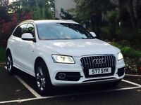 Stunning Audi Q5 S Line Plus - White with many extras