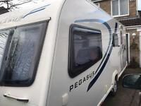 Bailey Pegasus Milan 2011, 4 Berth Caravan. Excellent condition. 1 owner from new.