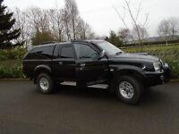 L200 Warrior black diesel low mileage Mitsubishi MOT