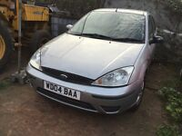 Ford Focus silver 1.8 tdci diesel manual breaking for parts /// spares