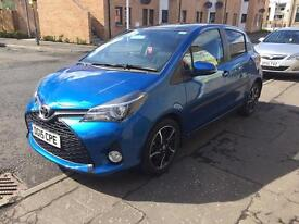 TOYOTA YARIS 1.3 VVTI SPORT 2015 PANORAMIC ROOF LOW MILES FSH 3 YEAR DEALER WARRANTY REMAINING