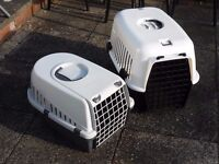 2 CAT CARRIERS / SMALL ANIMAL CARRIERS £10 FOR BOTH