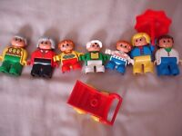 Lego Duplo Vintage Family Figures Set 5029 Complete