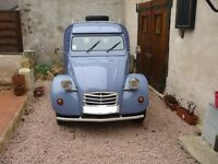 Gorgeous 2CV Dolly Van; 1986; beautiful and runs great;