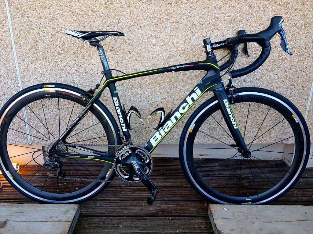 bianchi infinito cv dura ace 2015 with mavic cosmic pro carbon wheels in kirkcaldy fife gumtree