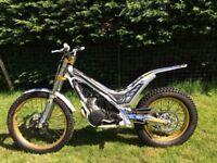 Sherco 290 Trials bike 2012