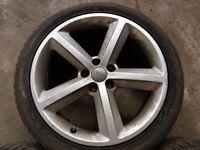 1x Genuine Audi A6 C6 alloy wheel