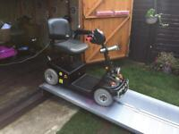 UNUSUAL GOTHIC WALKING DEAD ZOMBIE SHOPRIDER DELUXE MOBILITY SCOOTER -WAS £2000 - JUST £495 -18ST