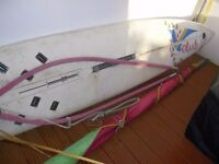 Windsurf Board and sail