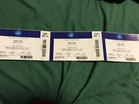 WWE Smackdown live 3 tickets