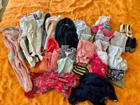 Bundle of girl's clothes, 9 to 24 months