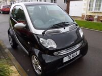 Mercedes Smart Car, air con, leather heated seats, CD player, glass roof, low mileage.