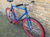 Vintage Custom No Logo Single Speed Fixie Bike Fixed gear bicycle