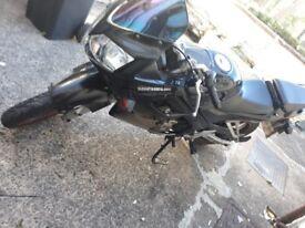 Cbr 125 o5 plate exellent bike 1000