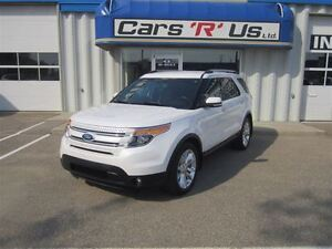 2014 Ford Explorer LIMITED 4X4 6 PASS (NO PST) 80K!