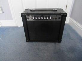 Guitar practice amplifier